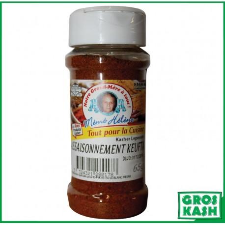 Assaisonnements Kefta bouteille 65gr kasher lepessah BADATZ IHOUD