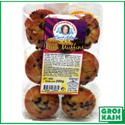 Muffin Pepites Choco 200grkasher parve AFIAT ISRAEL BADATZ IHOUD ARABANIM