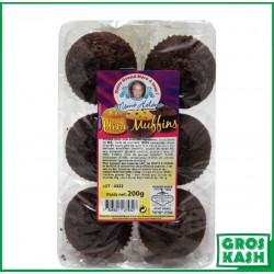 Muffin Double Choco 200grkasher parve AFIAT ISRAEL BADATZ IHOUD ARABANIM