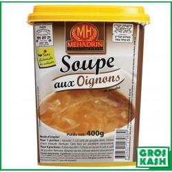 Soupe Oignons Mehadrin 400 G MH kasher lepessah IHOUD HARABBANIM
