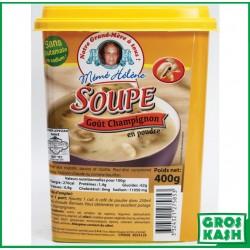 Soupe goût Champignon 400gr Mémé Hélène kasher lepessah IHOUD HARABBANIM