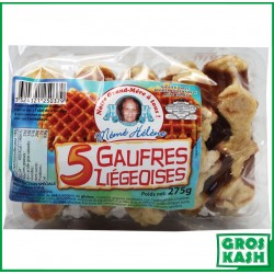 Gaufres Liegeoises 275 G kasher parve