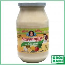 Mayonnaise Citron 500ml MEME HELENE kosher lepessah LOUBAVITCH