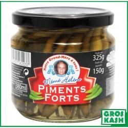 Petits piments forts 380ml kasher lepessah