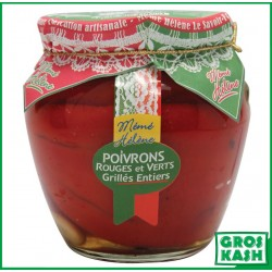 Amphora Poivron Rouge et Vert entier 580 ML kasher lepessah