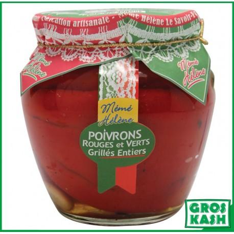 Amphora Poivron Rouge et Vert entier 540ml kasher lepessah