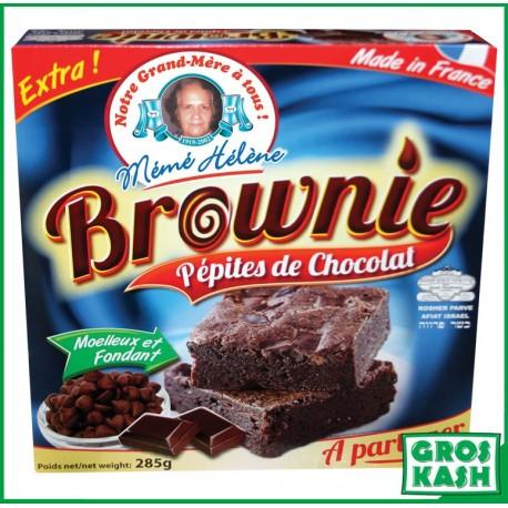 Brownies Americain Tout Choco / Pepites 285gr kasher parve IHOUD