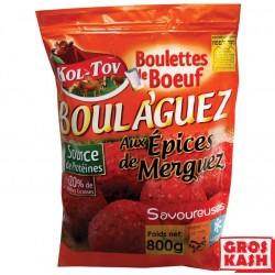 Boulaguez Boulettes au Épices pour Merguez 800gr kasher lepessah IQF Shritta Loubavitch Badatz IHOUD