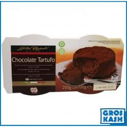 Tartufo Chocolat 2x100gr kasher produits halav israel