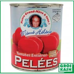 Tomate pelée entiere MH 800gr kasher lepessah BADATZ IHOUD