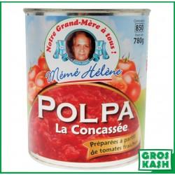 Tomates Concassées MH 800gr kasher le pessah BADATZ IHOUD