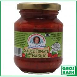 Sauce Tomates Basilic 314ml kasher le pessah BADATZ IHOUD