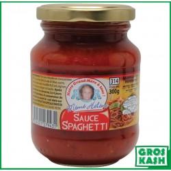 Sauce Spaghetti a la Napolitaine 314 ML kasher le pessah BADATZ IHOUD