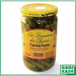 Cornichons extra fins 72cl kasher le pessah
