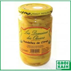 Rondelles de Citron 72cl kasher le pessah