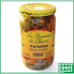 Variantes de Legumes Domaines de Olivier 72cl kasher le pessah