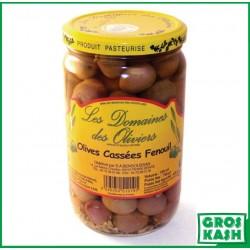 Olives Cassées au Fenouil 72cl kasher le pessah