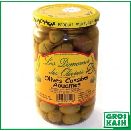 Olives Cassées Aouames 72cl kasher le pessah