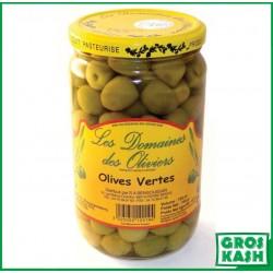 Olives Vertes 72cl kasher le pessah