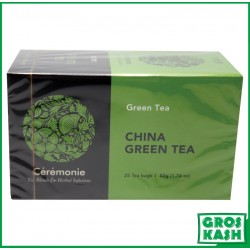 The China Green Tea (The Vert Chine) 50gr x12 kasher lepessah