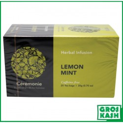 The Lemon Mint Menthe Citron 20gr x12 kasher lepessah HATAM SOFER
