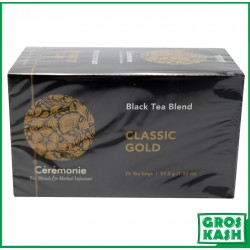 The classic Gold Black Tea Classic 37,5gr x6 kasher lepessah HATAM SOFER