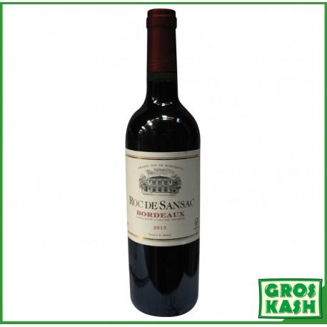 Bordeaux Rouge Couvée extra reservée 750ml kosher lepessah HATAM SOFER +OK LOUB