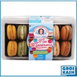12 Macarons MH boite classique rectangle 144gr kasher BADATZ BETH YOSSEF