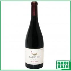Pinot noir YARDEN 2010 KASHER LEPESSAH LAMEHADRIN RAV ORCHBACH ET OK DE NEW YORK NON MEVUSHAL