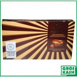 Chocolat Parve Nougat aux Noisettes et Amandes 200gr kosher RABBI HOD