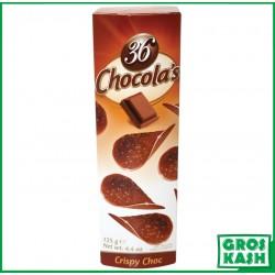 36 Chocolas au Lait 12x 125gr kasher halavie RABBI HOD