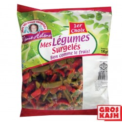 Poivron Rouge et Vert Laniere MEME HELENE 1 Kg KPL