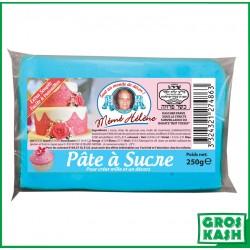 Pâte à sucre couleur blue aqua 250gr kasher