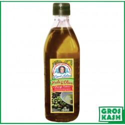 Huile Olive extra vierge 1er choix 500ml kasher lepessah RAV WOLFF