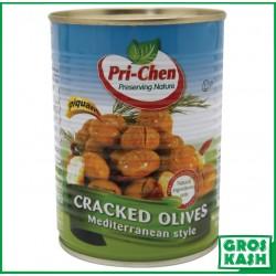 Olives Cassees Israelien piquant 560gr kasher lepessah HATAM SOFER
