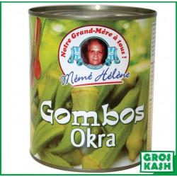 Gombos Okras extra 825gr kasher lepessah MEME HELENE