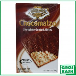 Matzot au Chocolat King David 200gr kosher lepessah BADATZ IHOUD