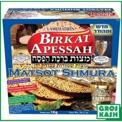 Matza Yad Shmura Birkat Marfood 1kg MH kosher lepessah