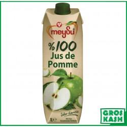 100% Pur Jus de Pomme 1L kasher lepessah