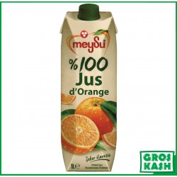 100% Pur Jus d'Orange 1 L kasher lepessah