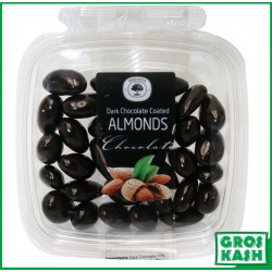 Amandes Enrobes Chocolat Noir 160gr kasher lepessah HATA