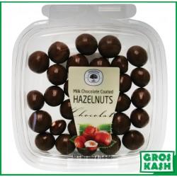 Noisettes Enrobes Chocolat Lait 160gr kasher lepessah HATA