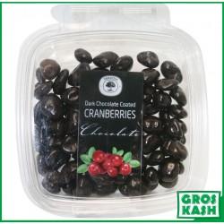 Cramberrys Enrobes Chocolat Noir 160gr kasher lepessah HATA