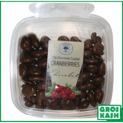 Cramberrys Enrobes Chocolat Lait 160gr kasher lepessah HATA