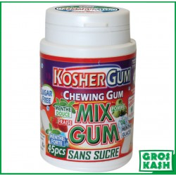 Chewing Gum Sans Sucre Mixte kosher lepessah RABBI HOD