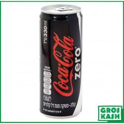 Coca Cola Zero Sans Sucre 33cl kasher lepessah