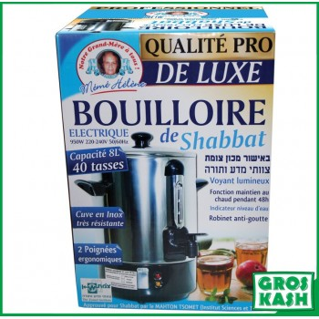 Bouilloire Kum Kum de Shabat Premium kosher lepessah