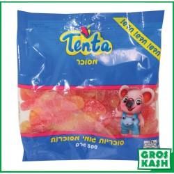 Coeur de Peach Cerise Gélifiés 500gr kosher lepessah BADATZ BETH YOSSEF