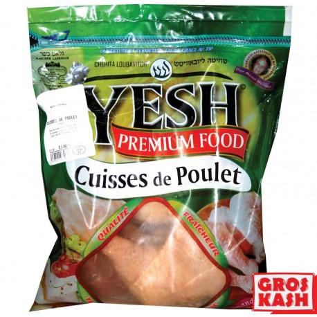 Cuisse de Poulet sachet environs 1 Kg kasher lepessah YESH IQF SHRITTA LOUBAVITCH