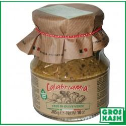 Tapenade d'Olives Vertes a huile d'olives 314ml kasher lepessah